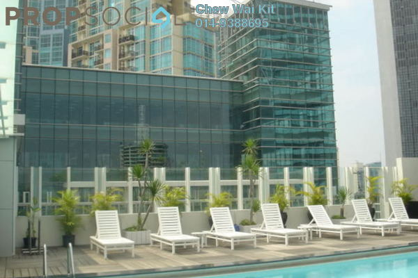 For Rent Condominium at Bintang Goldhill, KLCC Freehold Fully Furnished 1R/1B 2.7k