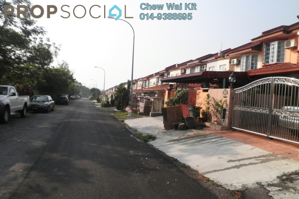 For Sale Terrace at Taman Segar Perdana, Cheras Leasehold Semi Furnished 8R/8B 2.2m