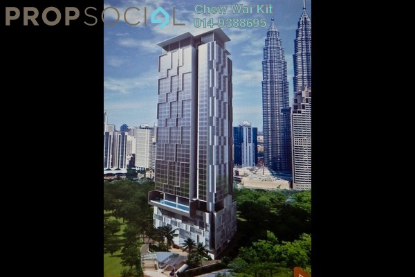 For Sale SoHo/Studio at Binjai 8, KLCC Freehold Unfurnished 1R/1B 1m