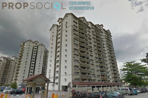 For Rent Condominium at Sentul Utama Condominium, Sentul Leasehold Fully Furnished 3R/2B 1.5k