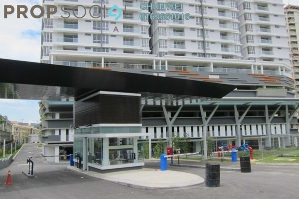 For Sale Condominium at Platinum Hill PV2, Setapak Freehold Fully Furnished 4R/3B 580k