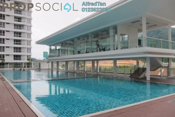 For Rent Condominium at Platinum Hill PV2, Setapak Freehold Semi Furnished 4R/2B 2.1k