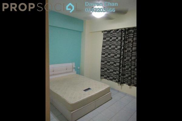For Rent Condominium at Garden Park, Bandar Sungai Long Leasehold Semi Furnished 3R/2B 1.1k