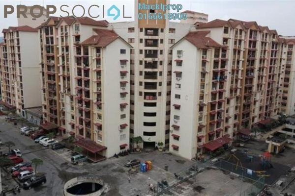 For Sale Apartment at Vista Lavender, Bandar Kinrara Leasehold Unfurnished 3R/2B 260k