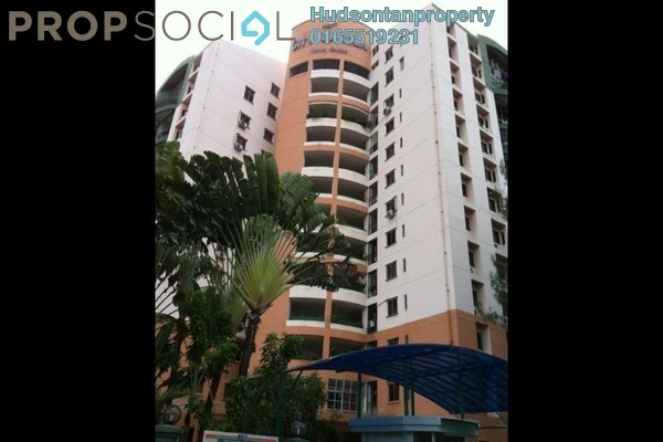 For Rent Condominium at City Garden Palm Villa, Pandan Indah Leasehold Semi Furnished 3R/2B 1.3k