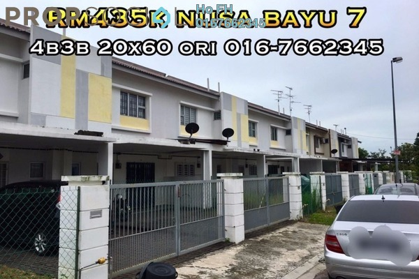 For Sale Terrace at Nusa Bayu, Iskandar Puteri (Nusajaya) Freehold Semi Furnished 4R/3B 435k