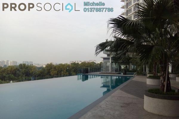 For Rent Condominium at Desa Green Serviced Apartment, Taman Desa Freehold Semi Furnished 3R/2B 1.9k