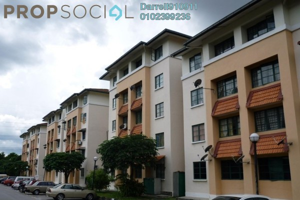 For Rent Apartment at SD Apartment II, Bandar Sri Damansara Freehold Unfurnished 3R/2B 1k