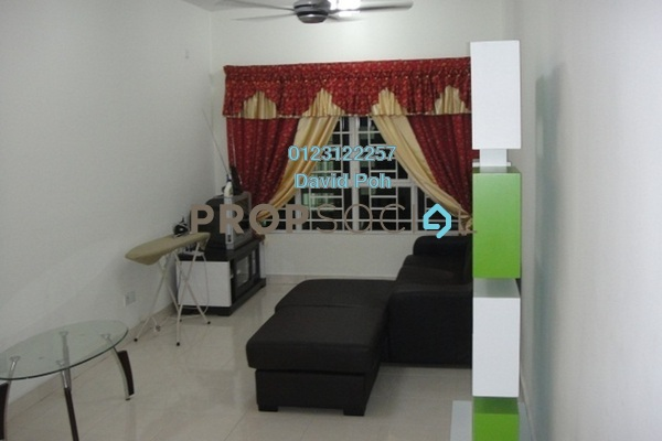 For Rent Condominium at Banjaria Court, Batu Caves Leasehold Fully Furnished 3R/2B 1.8k