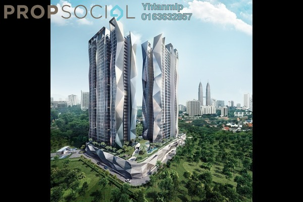 For Sale Condominium at Picasso Residence, Ampang Hilir Leasehold Fully Furnished 3R/2B 1.3m