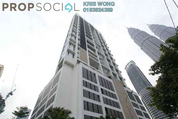 For Rent Condominium at The Meritz, KLCC Freehold Fully Furnished 2R/2B 5.3k