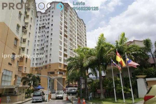 For Rent Condominium at Merdeka Villa, Ampang Leasehold Unfurnished 3R/2B 1k