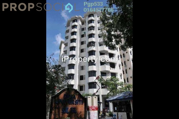 For Rent Condominium at Desa University, Sungai Dua Freehold Unfurnished 3R/2B 1.2k