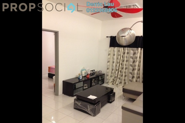 For Rent Condominium at Suria Court, Bandar Mahkota Cheras Freehold Semi Furnished 3R/2B 1k