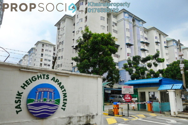 For Sale Apartment at Tasik Heights Apartment, Bandar Tasik Selatan Leasehold Unfurnished 1R/1B 220k