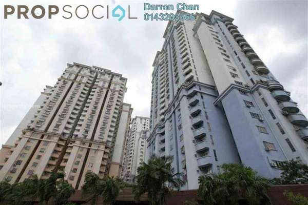 For Rent Condominium at Ridzuan Condominium, Bandar Sunway Leasehold Semi Furnished 3R/2B 1.3k