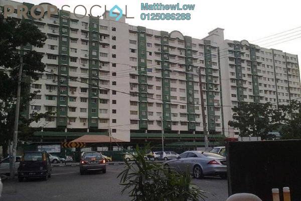 For Rent Apartment at Nibong Indah, Sungai Nibong Freehold Semi Furnished 3R/2B 1.1k