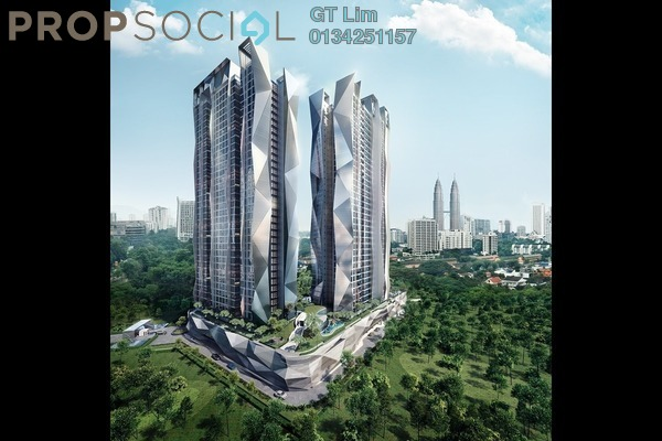 For Sale Condominium at Picasso Residence, Ampang Hilir Leasehold Fully Furnished 3R/2B 1.08m
