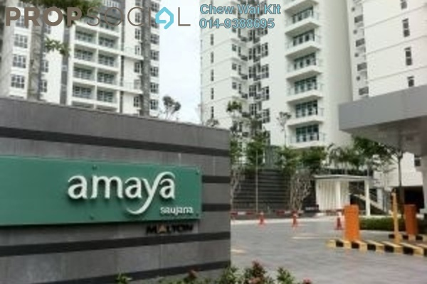 For Sale Condominium at Amaya Saujana, Saujana Freehold Semi Furnished 3R/2B 1.05m