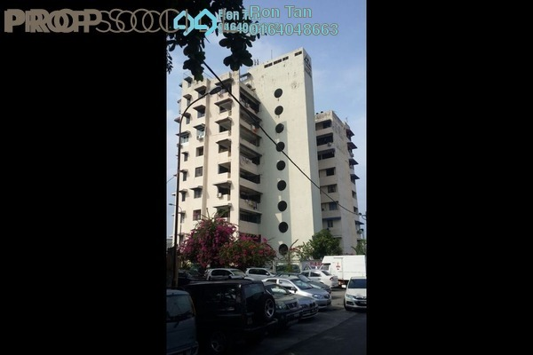 For Sale Apartment at Taman Lita, Jelutong Freehold Fully Furnished 2R/1B 330k