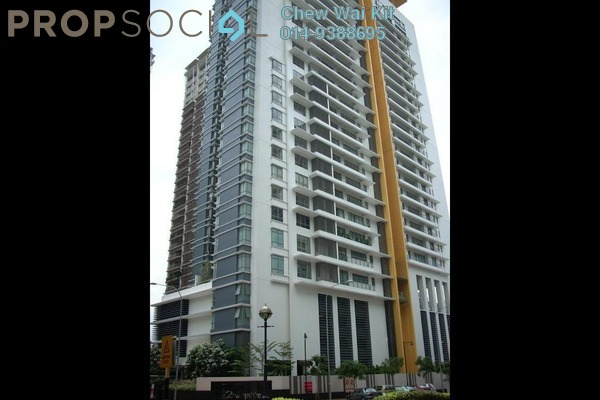 For Rent Condominium at 2 Hampshire, KLCC Freehold Fully Furnished 1R/1B 3.2千