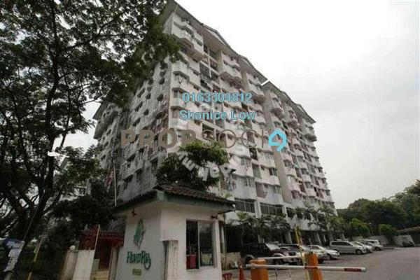 For Sale Apartment at Hijau Ria, Kepong Freehold Semi Furnished 3R/2B 298k
