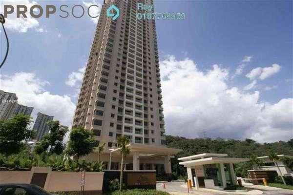 For Rent Condominium at Casa Kiara II, Mont Kiara Freehold Semi Furnished 3R/3B 3.5k