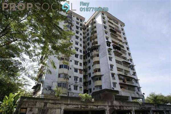 For Rent Condominium at Pandan Jaya, Pandan Indah Leasehold Unfurnished 3R/1B 1.1k