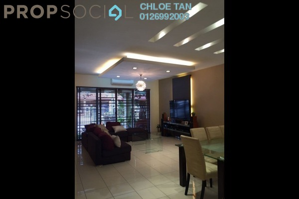 For Sale Terrace at Bayu Puteri 1, Johor Bahru Leasehold Semi Furnished 4R/3B 930k