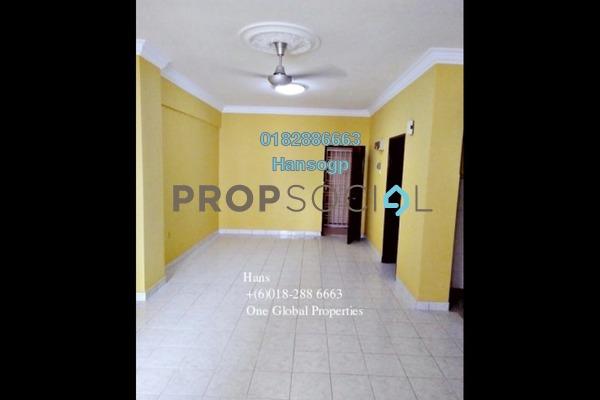 For Sale Condominium at Pelangi Damansara, Bandar Utama Freehold Semi Furnished 3R/2B 420k