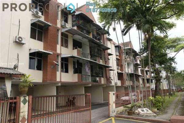For Rent Condominium at Manor Apartment, Cheras Freehold Semi Furnished 3R/2B 1.5k