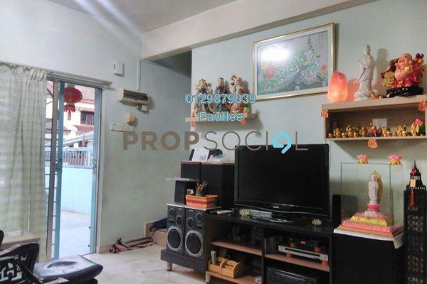For Sale Terrace at Jalan Merak, Bandar Puchong Jaya Freehold Semi Furnished 3R/2B 568k