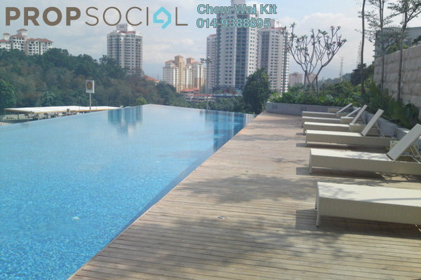 For Rent Condominium at Lumina Kiara, Mont Kiara Freehold Fully Furnished 4R/3B 4.3k
