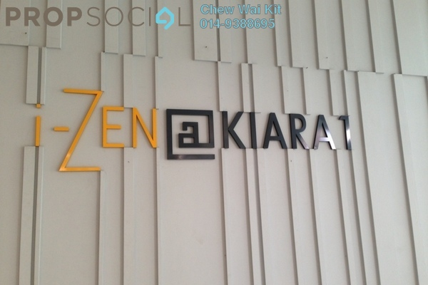 For Rent Condominium at i-Zen Kiara I, Mont Kiara Freehold Fully Furnished 1R/1B 3.8k