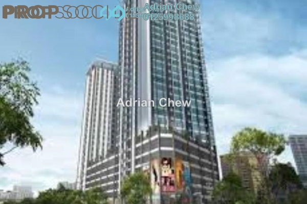 For Sale Condominium at Straits Garden, Jelutong Freehold Unfurnished 3R/2B 578k