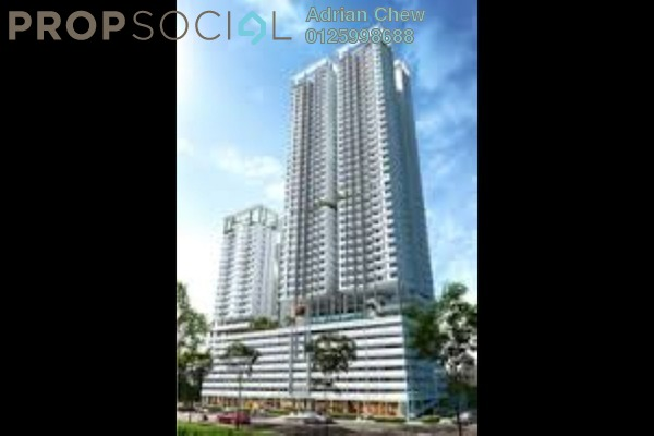 For Sale Condominium at Skyview Residence, Jelutong Freehold Unfurnished 4R/2B 713k