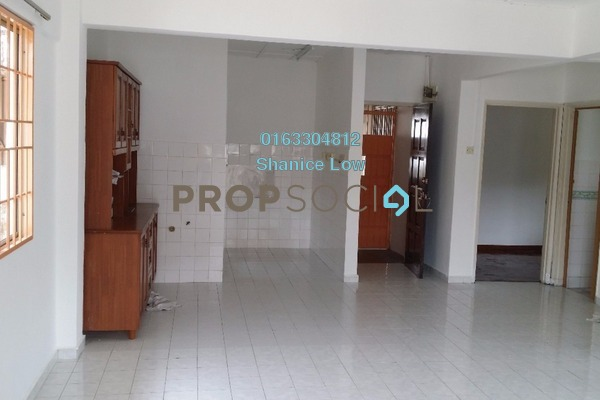 For Sale Apartment at Aman Satu, Kepong Freehold Semi Furnished 3R/2B 268k