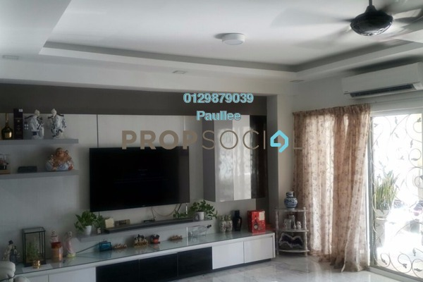 For Sale Terrace at Merbuk, Bandar Puchong Jaya Freehold Semi Furnished 4R/3B 980k