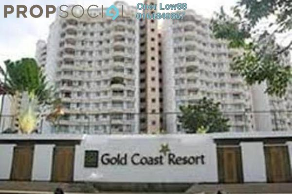 For Rent Condominium at Gold Coast, Bayan Indah Leasehold Unfurnished 3R/2B 1.5k