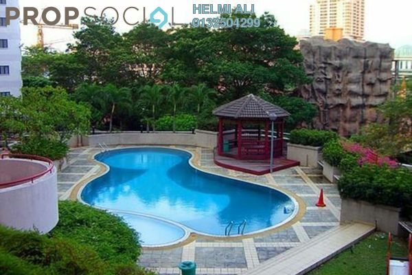 For Sale Condominium at Indah Villa, Bandar Sunway Leasehold Semi Furnished 3R/2B 550k