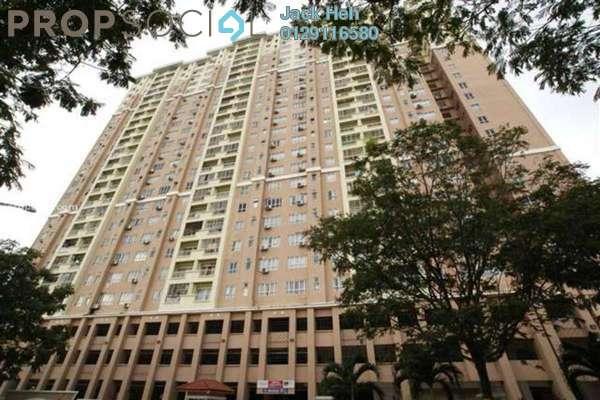 For Sale Apartment at D'Aman Ria, Ara Damansara Freehold Semi Furnished 3R/2B 566k