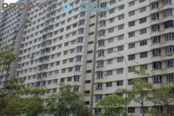 For Rent Apartment at Taman Bukit Angkasa Flat, Pantai Freehold Unfurnished 3R/2B 1.2k