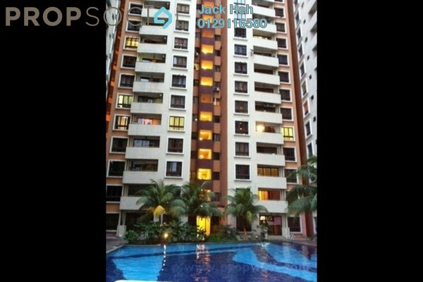 For Sale Apartment at Palm Spring, Kota Damansara Leasehold Semi Furnished 3R/2B 430k
