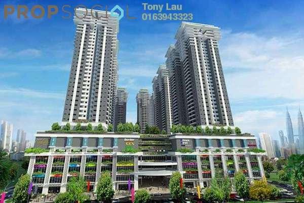 For Rent Condominium at Maxim Citilights, Sentul Leasehold Unfurnished 3R/2B 1.5k