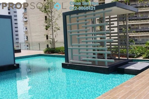 For Sale Condominium at The Elements, Ampang Hilir Freehold Semi Furnished 1R/1B 589k