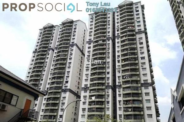 For Rent Condominium at Pandan Villa, Pandan Indah Leasehold Unfurnished 3R/2B 1.35k