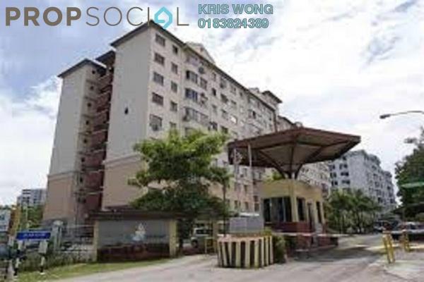 For Sale Condominium at Petaling Indah, Sungai Besi Leasehold Semi Furnished 2R/2B 310k