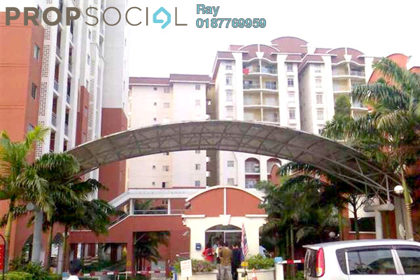 For Rent Condominium at Ketumbar Hill, Cheras Freehold Semi Furnished 2R/2B 1.3k