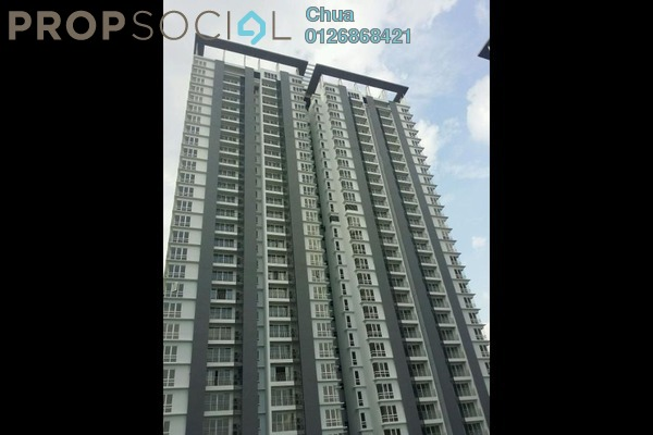 For Rent Condominium at Vina Versatile Homes, Cheras South Freehold Semi Furnished 3R/2B 1.5k