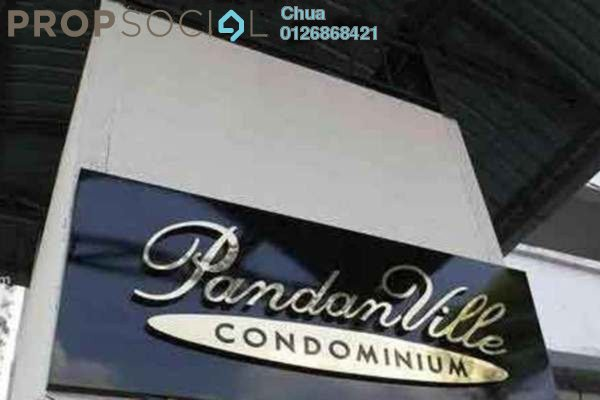 For Rent Condominium at Pandan Villa, Pandan Indah Leasehold Unfurnished 3R/2B 1.35k